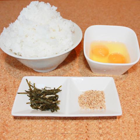 Tamago Kake Gohan(Sサイズ・Mサイズ)